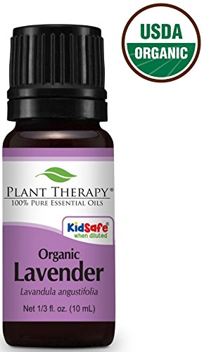 Plant Therapy Usda Certified Organic Lavender 10 ml Essential Oil