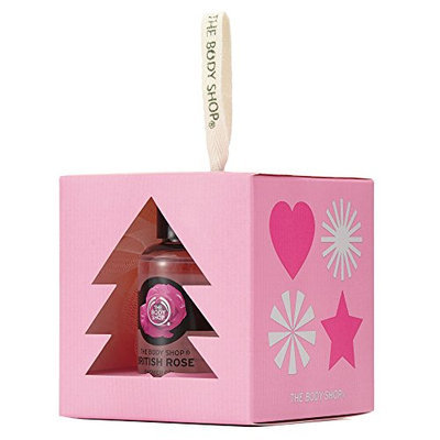 The Body Shop British Rose Treats Cube  Gift Set
