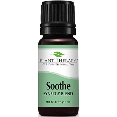 Plant Therapy Soothe Synergy Essential 10 ml Oil Blend