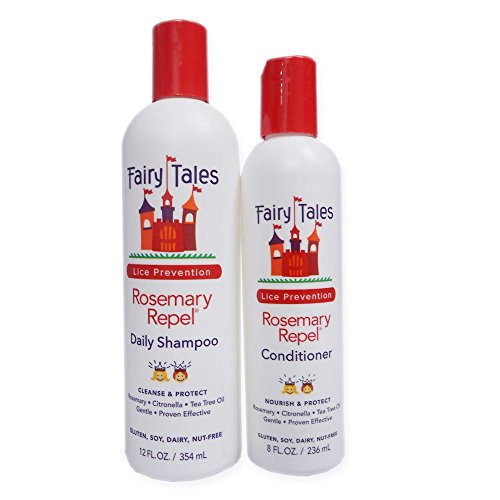 Fairy Tales Rosemary Repel Lice Prevention 12-Ounce Shampoo and 8-Ounce Conditioner Combo