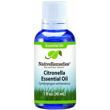 Aswechange NativeRemedies Citronella Essential Oil 30mL, 30 mL