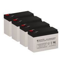 APC RBC49 Replacement Batteries (12V 7.5AH ) (Set of 4)