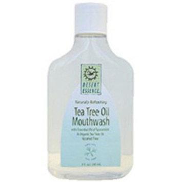 Desert Essence Natural Refreshing Tea Tree Oil Mouthwash - 16 Oz, 3 Pack