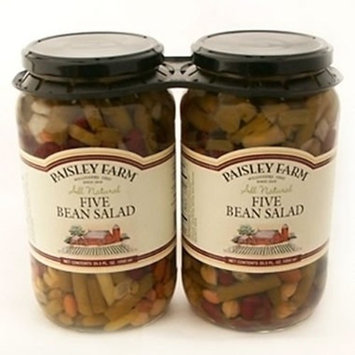 Paisley Farm 5 Bean Salad - 35.5 oz. - 2 ct. A1
