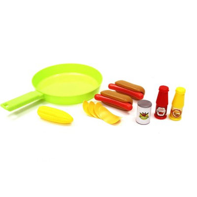 Food Skillet Hotdog Frying Pan Set