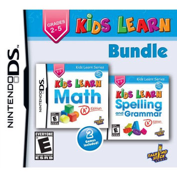 Talking Stick Games Kids Learn: Math and Spelling Bundle - NDS - 3DS & DSi Games