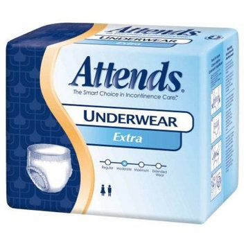 Attends Underwear Extra Absorbency, Attends Prtv Undwr Xtra Md, (1 PACK, 20 EACH)