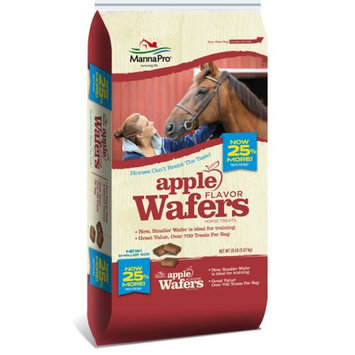 Manna Pro 667754 Wafers Horse Treats, Apple - 20 Pound