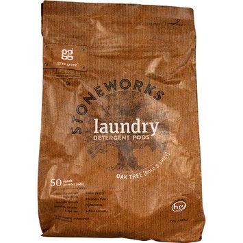 GrabGreen Stoneworks Laundry Detergent Oak Tree -- 50 Loads