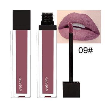 Lipstick Set,Putars Fashion Waterproof Long Lasting Liquid Velvet Matte Lipstick Makeup Lip Gloss Lip 6ml