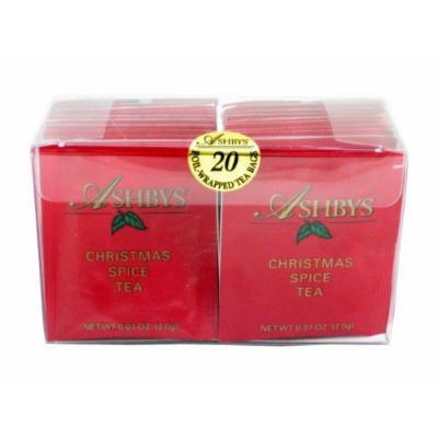 Ashbys Christmas Spice Tea Bags, 20 Count Box