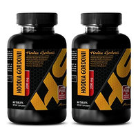 Fat burner for men - PURE HOODIA GORDONII EXTRACT 2000 Mg - Hoodia gordonii powder - 2 Bottle 120 Tablets