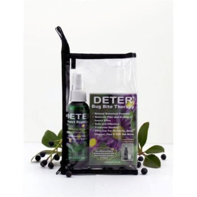 Deter D001A-1111 Deter Travel Kit 2 oz. Repellent, Bite Therapy