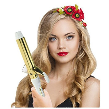 Royal-First Curler Iron Wand with Multi-Heat Control, Golden,25mm, 1 inch