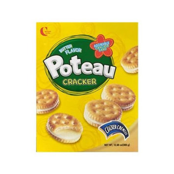 CROWN Creamy Butter Ssndwich Cracker 368g
