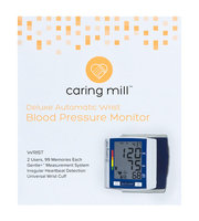 Caring Mill™ Premium Automatic Wrist Blood Pressure Monitor