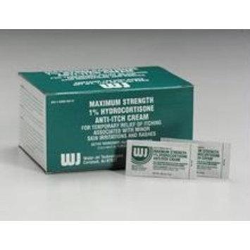 Hydrocortisone cream- 1.0%- .9 gm foil pack- 144 per box