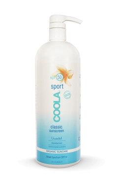 Coola Classic Sport SPF 50 Unscented, 32 oz