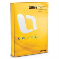 Microsoft Office Mac 2008 Home & Student Edition