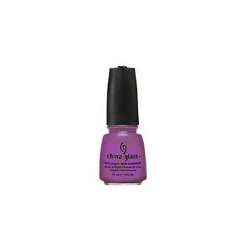China Glaze Nail Laquer with Hardeners-Electro Pop Collection Gothic Lolita (Quantity of 4)