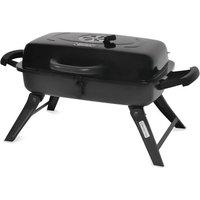 Blue Rhino Global Sourcing, Inc. Backyard Grill 278-sq in Portable Charcoal Grill, Black