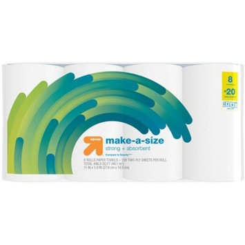 Make-a-Size Paper Towels - Huge Rolls - Up&Up™ (Compare to Bounty)