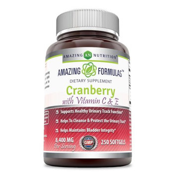 Amazing Nutrition Cranberry with Vitamin C & E