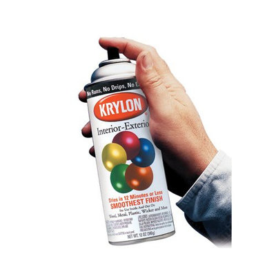 Krylon Spray Paints, Khaki, 12 oz