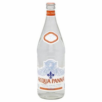 Aqua Panna Spring Water, 1 Liter (12 Glass Bottles)