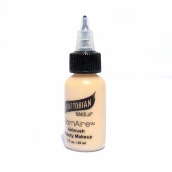 Graftobian GlamAire AirBrush Makeup 1oz, Peach Blush (N)