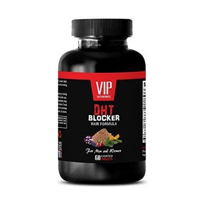 hair supplement for men dht - DHT BLOCKER HAIR FORMULA - FOR MEN AND WOMEN - zinc supplement for hair loss - 1 Bottle 60 Coated Tablets