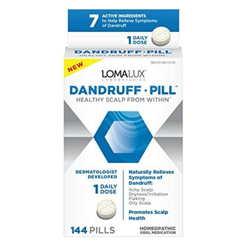 Dandruff Pill - All Natural Scalp Clearing Minerals Taken Like A Vitamin - Dermatologist Developed Clear & Prevent Dandruff With No Harsh Chemicals