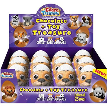 Choco Treasure Everyday Single Egg (Pack of 12)