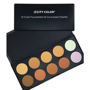 City Color 10 Color Foundation & Concealer Palette