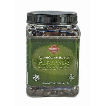 Wellsley Farms Dark Chocolate Covered Almonds, 45 oz.