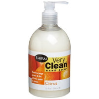 Shikai Very Clean Citrus Liquid Hand Soap, 12-Ounce Bottle by ShiKai