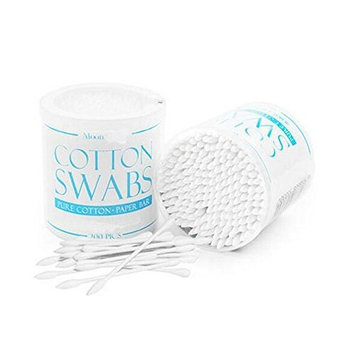 200PCS White Double-end Cotton Swabs Buds With Paper Sticks Multipurpose Safe For Makeup Clean Auxiliary Baby Personal Care