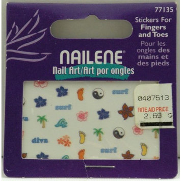 Nailene Nail Art Stickers For Fingers & Toes - 77135