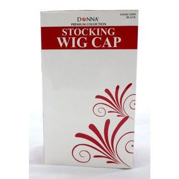 Nylon Wig Caps, Black, 20-pack