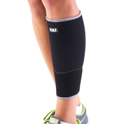 Black Mountain Products Inc Extra Thick Warming Calf Compression Sleeve - Therapeutic Warming Sensation