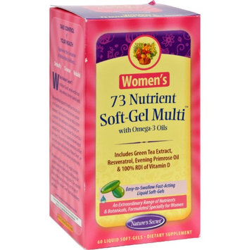 tures Secret Nature's Secret Women's 73 Nutrient Soft-Gel Multi - 60 Softgels - HSG-403964