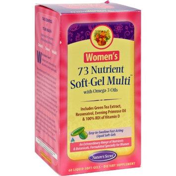 tures Secret Nature's Secret Women's 73 Nutrient Soft-Gel Multi - 60 Softgels - HSG-403964