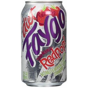 Faygo diet redpop strawberry soda, 12-pack 12-fl. oz. cans
