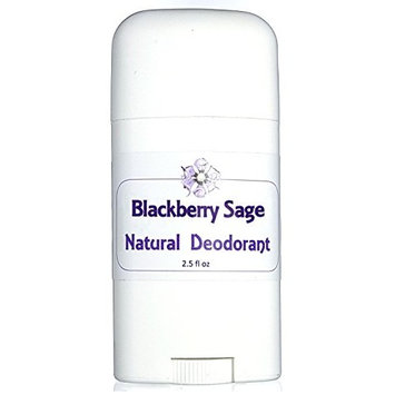 Flowersong Blackberry Sage Natural Deodorant - Aluminum Free
