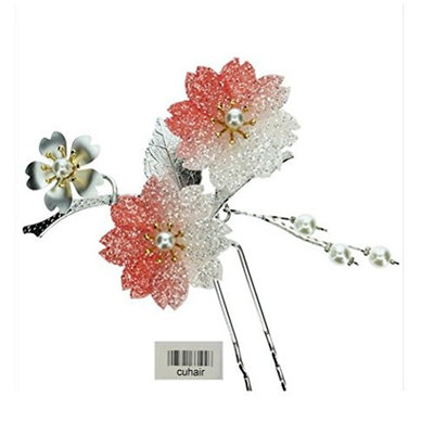 cuhair 1pc Wedding U Style Flower Women Girl Hair Clip Barrettes Hair Claw Hair Accessories