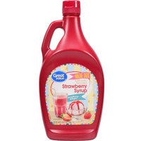 Great Value Strawberry Syrup
