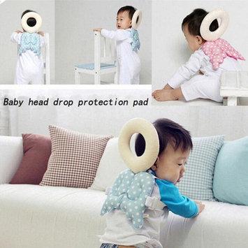 Jelinda Baby Head Protection Pad Toddler Headrest Pillow Baby Neck Cute Wings Nursing Drop Resistance Cushion #Redfur