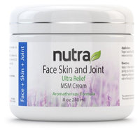 Face, Skin & Joint Ultra Relief Cream Nutra Research Intl 8 oz (240ml) Cream