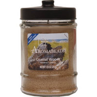 Hanna's Candle Company Mainstays 7.25-Ounce Aromabeads Candle, Coastal Woods