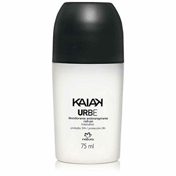 Linha Kaiak Natura - Desodorante Antitranspirante Roll-on Urbe 75 Ml - (Natura Kaiak Collection - Urbe Roll-on Antiperspirant Deodorant 2.53 Fl Oz)